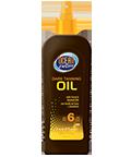 (福利品65折出清)胡蘿蔔助曬油SPF6(含椰子油)〈8 FL OZ (237mL)〉